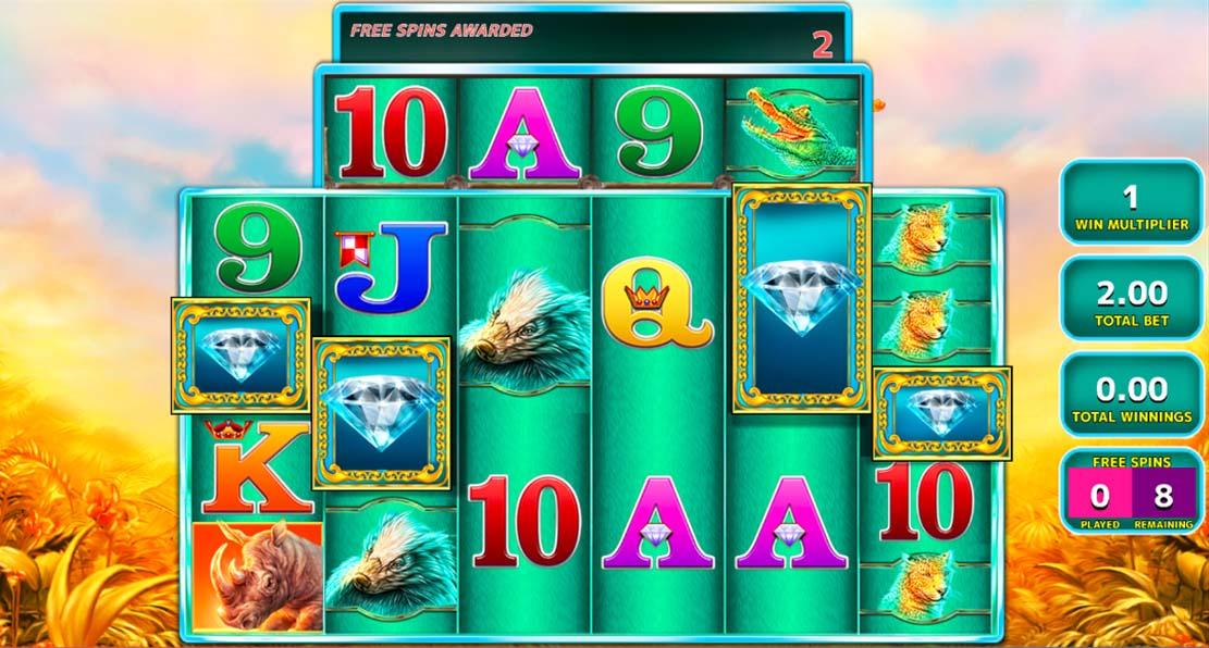 Play Raging Rhino Megaways Slot For Free Smashcasinos Com