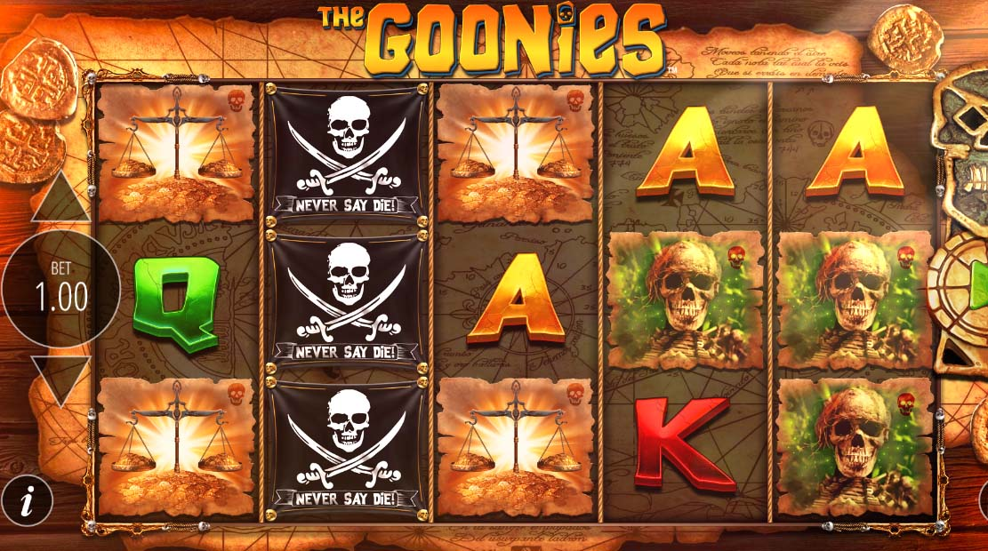 The Goonies Slot Game Review Play For Free Reel Money