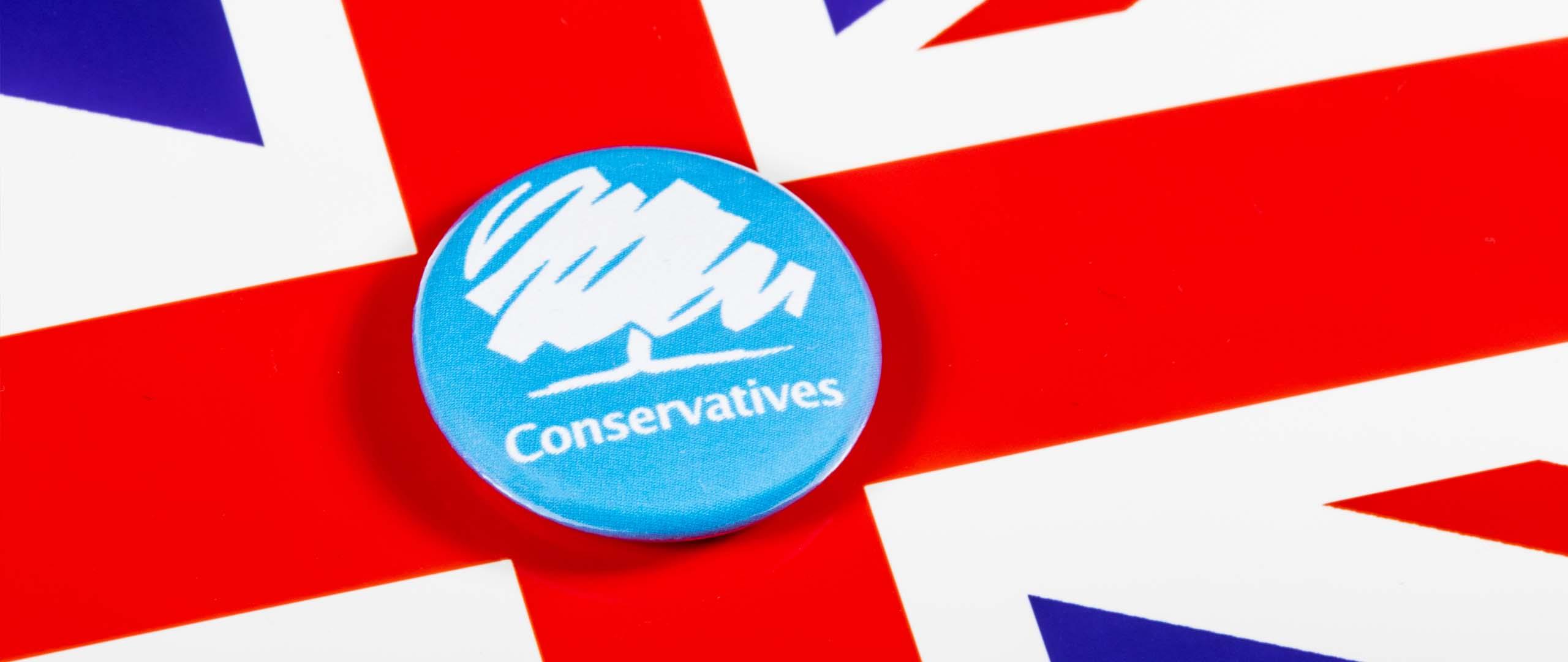 conservative background