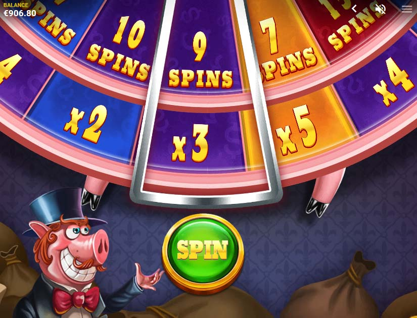 piggy riches megaways bonus wheel