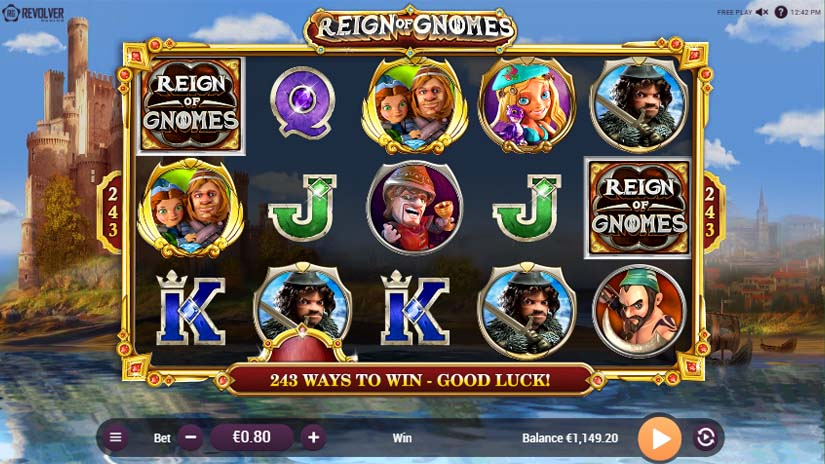 reign of gnomes slot