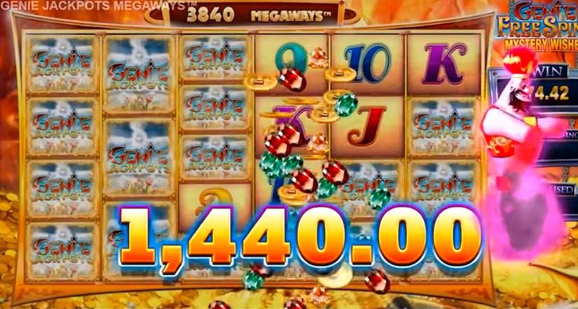 7200x genie jackpots megaways