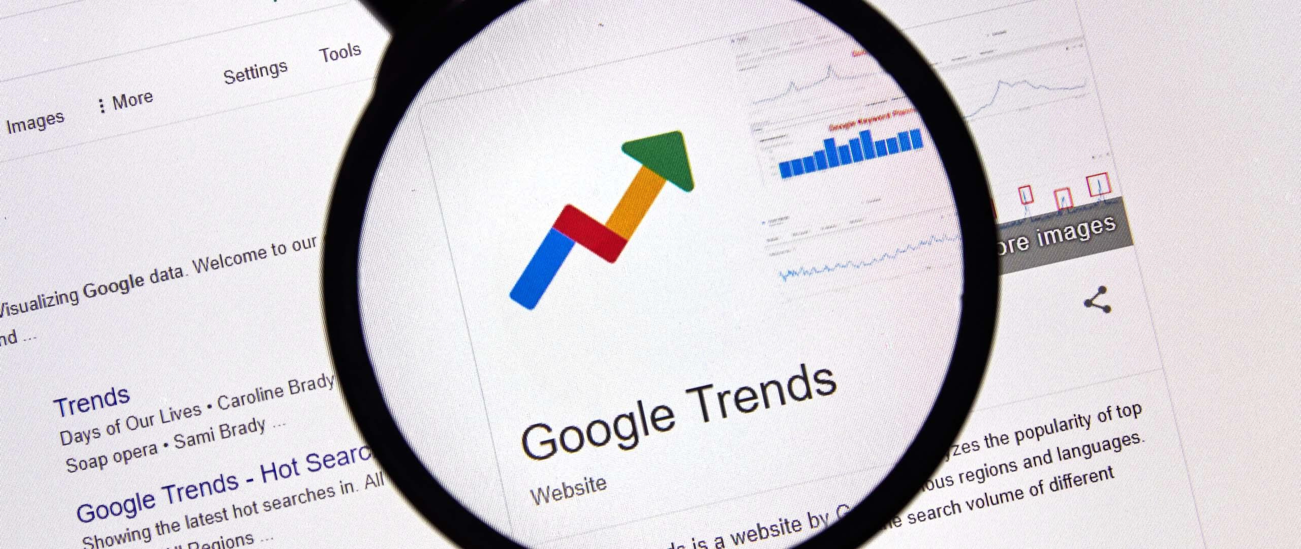 google trends header