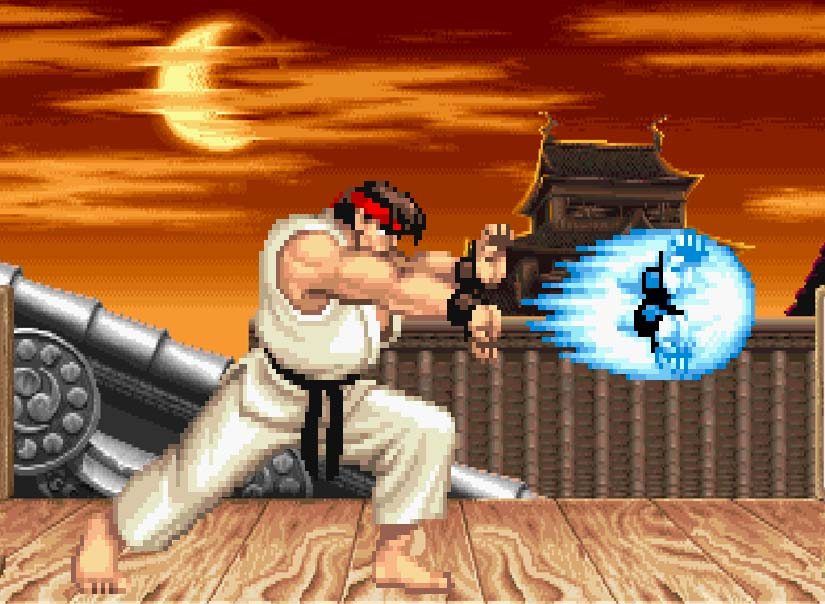 street fighter 2 guile stage