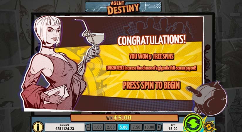 agent destiny bonus