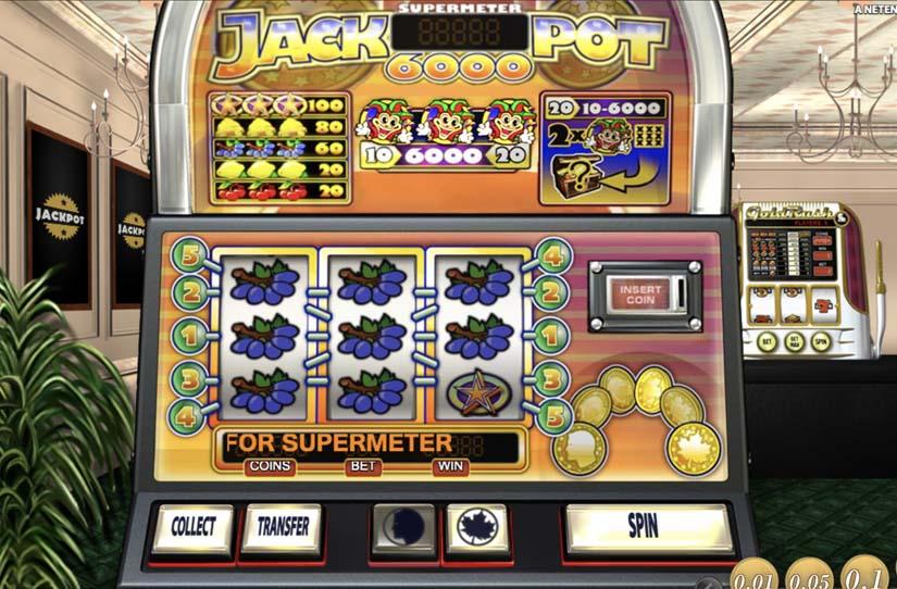 Jackpot 6000 bonus