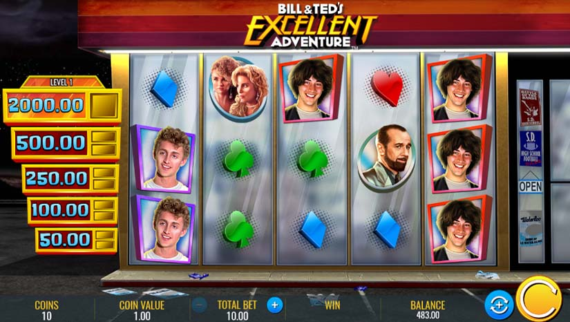 bill and ted's excellent adventure slot