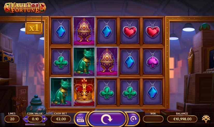 vault of fortune slot