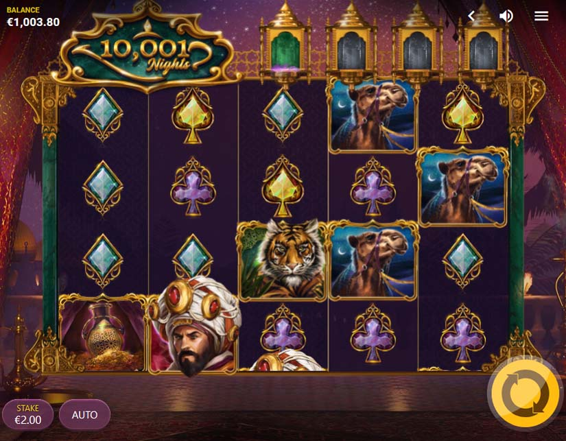 10,001 nights slot game