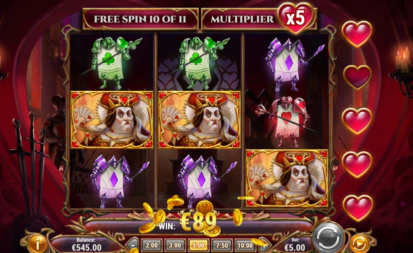 rabbit hole riches free spins