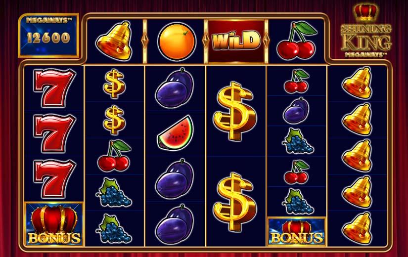 shining king megaways slot game