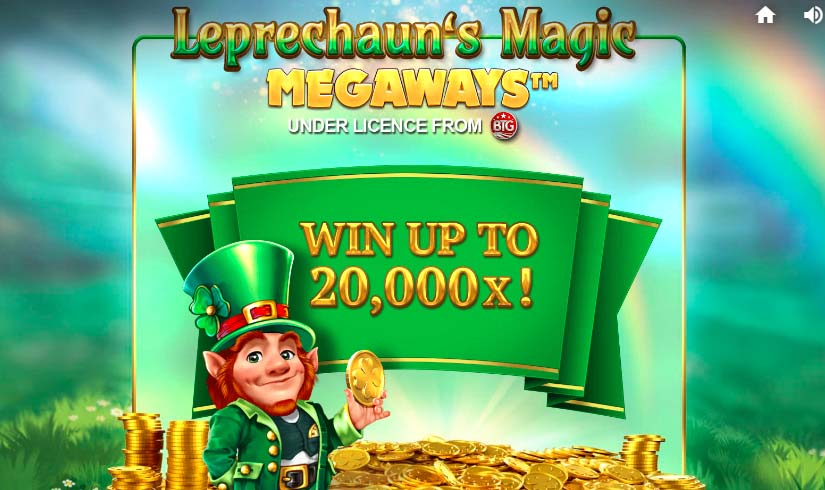 leprechaun's magic megaways, win up to 20,000x