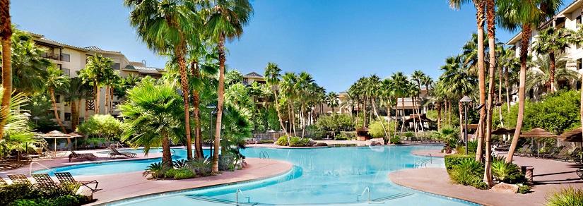 Tahiti Village Hotel Pool Las Vegas