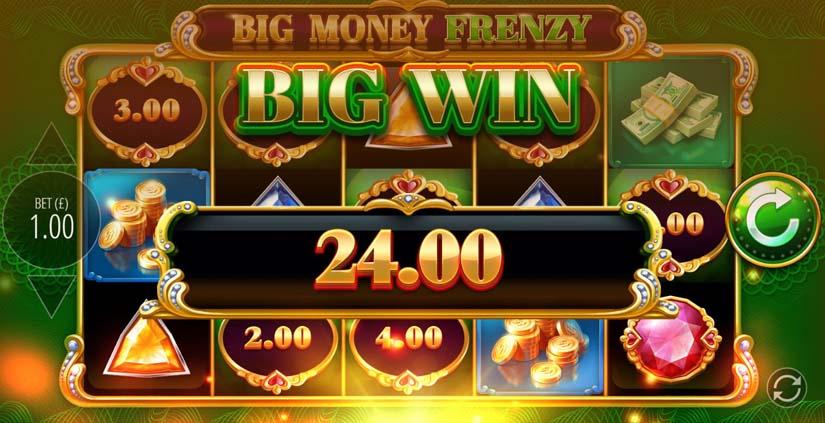 big money frenzy win