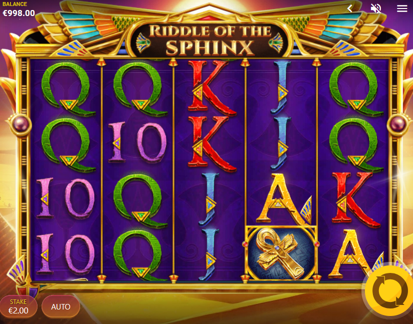 riddle of the sphinx slot game