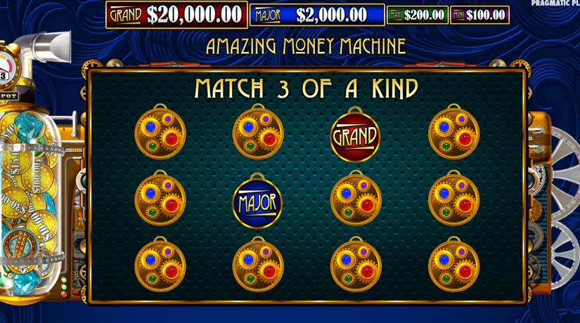 Amazing Money Machine bonus round