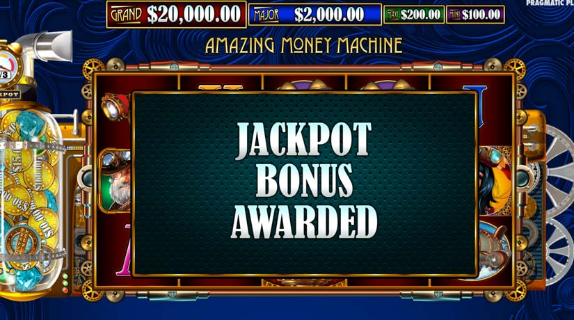Amazing Money Machine bonus