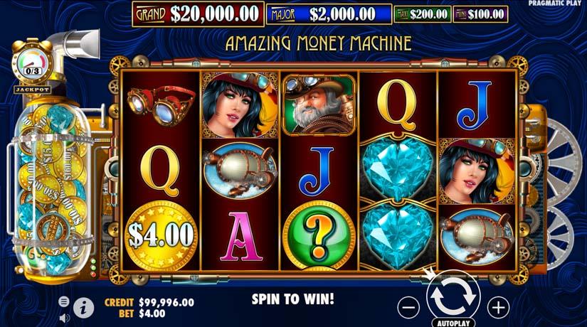Amazing Money Machine slot