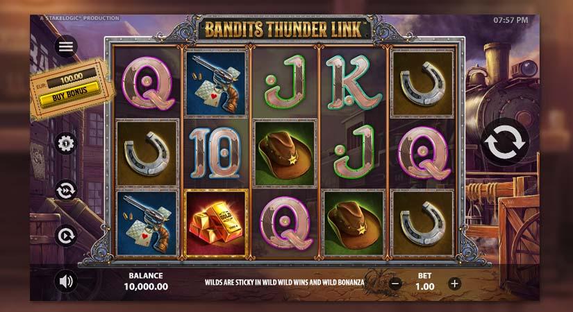 Bandits Thunder Link slot