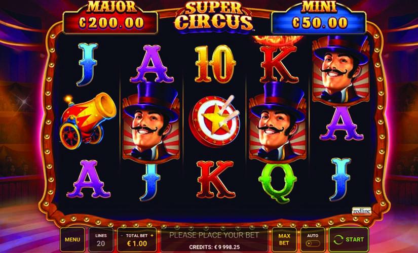 super circus slot game