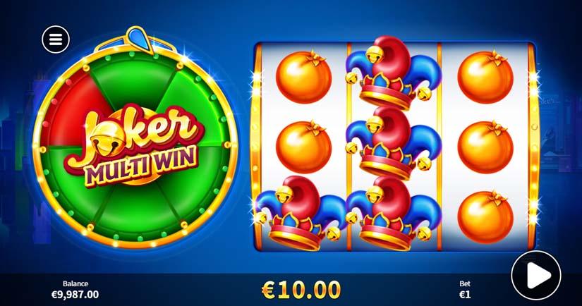 Joker Multi Win Bonus